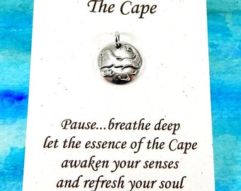 Lighthouse Center Cape Cod 925 Sterling Silver Travel Charm Pendant
