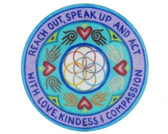 UNITY, Social Justice Ally Sticker, Healing