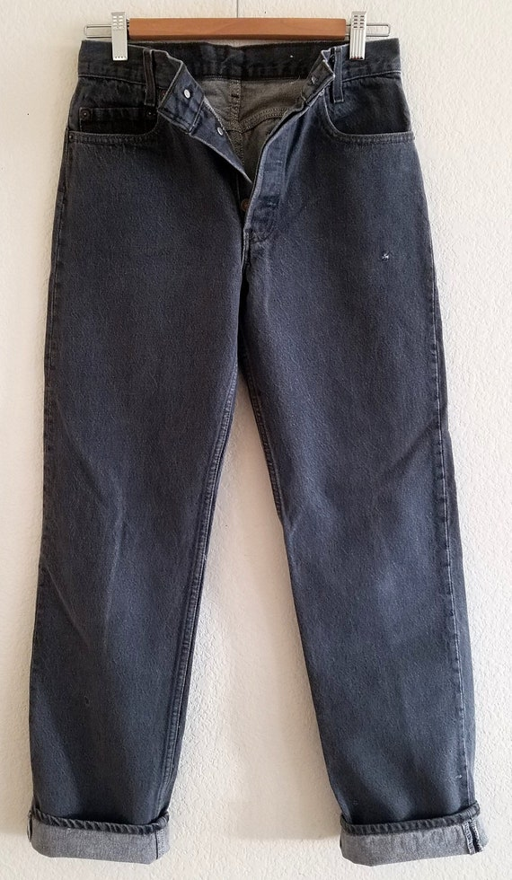 Vintage 701 Student Levis Jeans 30x32 Made in USA