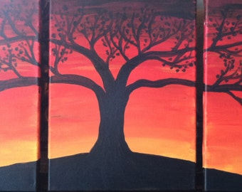 tree of life (three sectional)