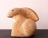 Ego Stengods vintage ceramic bunny. Swedish mid century design.