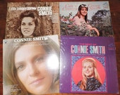 4x Connie Smith Signed Country Music Records Vinyl 12 quot LP Albums