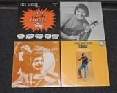 4x Peter Dawson Canadian Fiddle Folk Music Records Vinyl 12 quot LP Albums Lot