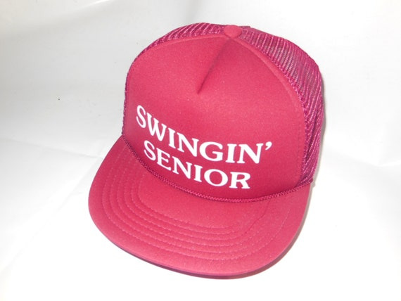 Vintage Swingin' Senior Trucker Hat