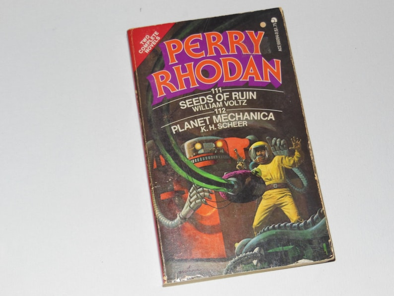 Perry Rhodan : Seeds of Ruin by William Voltz / Planet image 0