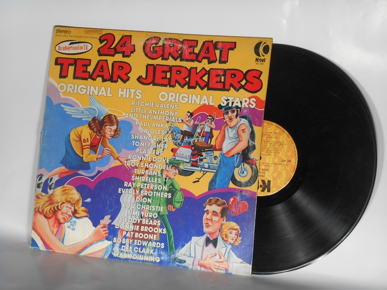 24 Great Tear Jerkers K-Tel Vintage 12