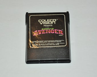 1981 COSMIC AVENGER Colecovision  Video Game Cartridge