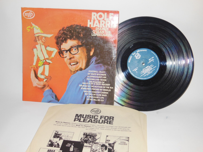 Vintage Vinyl Rolf Harris Shamus O'Sean The Leprechaun Childrens 1960s  Record