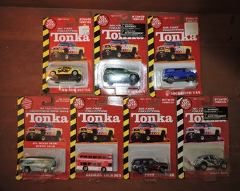 7x TONKA Vintage Sealed Vehicles / Cars Lot #T7