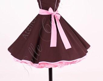 Custom made & handmade-magical 50s black petticoat Art.: 13