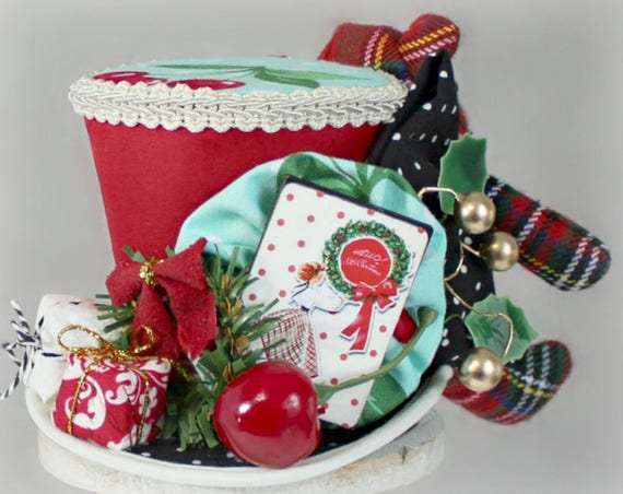 image 0 - Top Hat Christmas Decorations