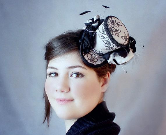 Mini Top Hat Wedding Top Hat Mini Hats Tea Party Hat Mad  485cfaca9ae
