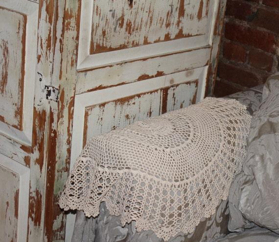 similares sofá Shabby a brazo Artículos Chic Crochet silla xrBoeCd