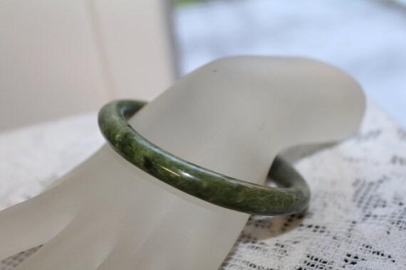 Vintage Chinese Jade Bangle Bracelet Chinese Jade