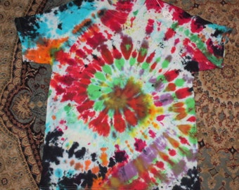 08e464146a Brain Washed 70 s tie dye t shirt adult L