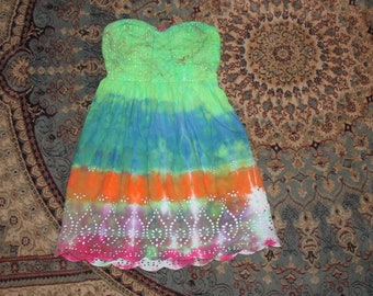 f66ced24e8 Brain Washed 70 s tie dye Dress Vanity Med