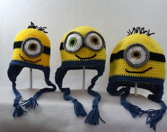 Crocheted Hat - Minion