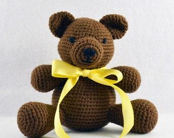 Crocheted Bear - Teddy