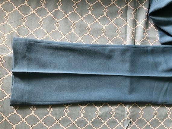 Vintage Mr. Scott knit flare men's trousers, new … - image 8