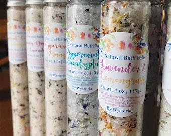 All Natural Bath Salts