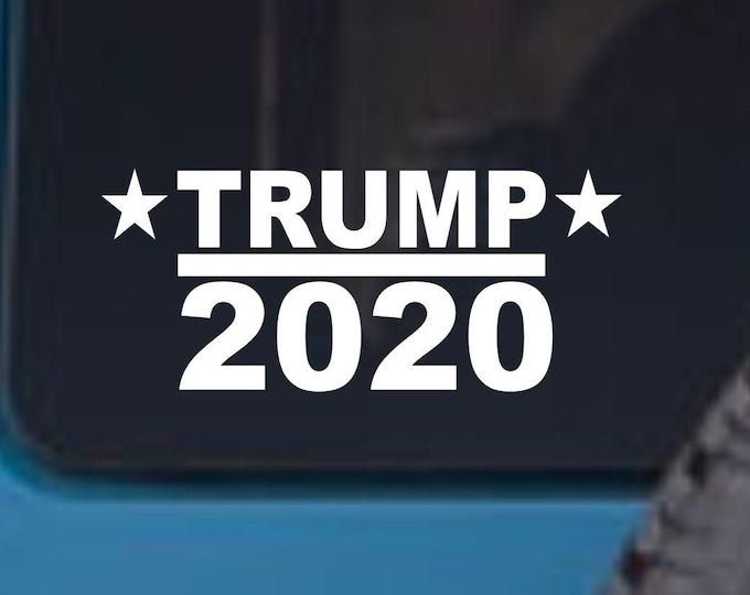 Trump 2020 vinyl decal, Trump 2020 vinyl sticker, Trump 2020, Trump sticker, Trump decal, Donald Trump 2020 decal, President Trump 2020