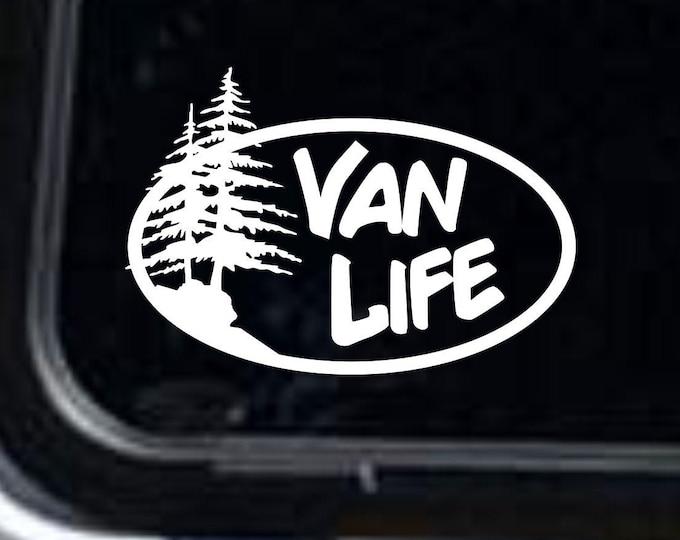 Van Life vinyl decal, Van Life, Van Life sticker, Van Life decal, van life gear, overland decal, overland sticker, overland van decal