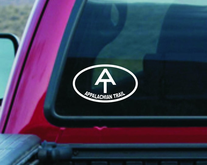 Appalachian Trail decal, Appalachian Trail sticker, hiker decal, hiker sticker, AT hiker decal, AT hiker sticker, Appalachian Trail