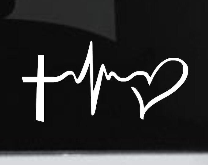 Faith Hope Love vinyl decal, faith hope love sticker, faith hope love decal, faith hope love, vinyl car sticker, faith hope love car sticker