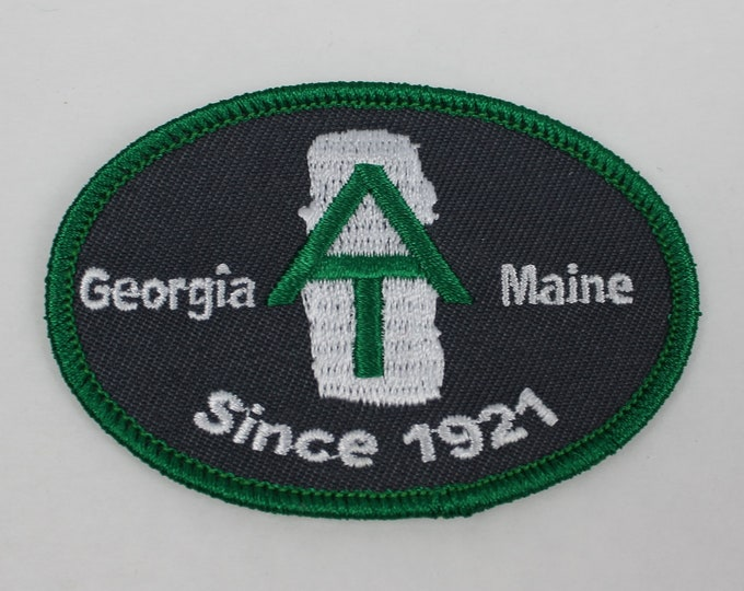 Appalachian Trail embroidered patch, Appalachian Trail patch, Embroidered Appalachian trail patch, hiker patch, hiking patch, AT thru hiker