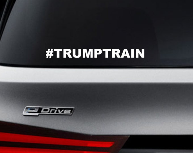 Trump train decal, trump train sticker, trump train, donald trump decal, donald trump sticker, trump for president sticker, trump decal