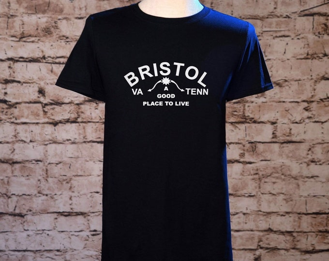 Bristol TN VA sign shirt, Bristol sign shirt, Bristol Virginia shirt, Bristol TN shirt, Bristol Tshirt, Birthplace of Country Music shirt,