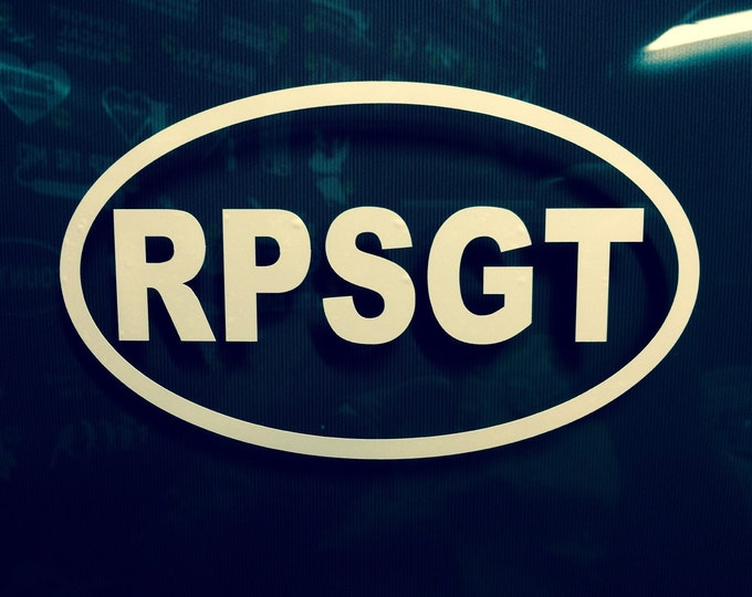 RPSGT decal, sleep tech decal, sleep tech sticker, polysomnographer decal, rpsgt sticker, sleep technologist decal, decal for sleep tech