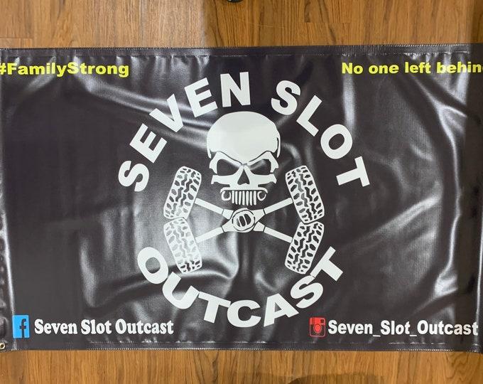 Seven Slot Outcast event banner, SSO banner, Seven Slot Outcast