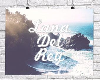 Lana Del Rey Art Print Poster