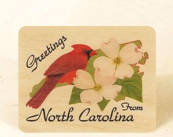 North Carolina State Sustainable Wood Postcard