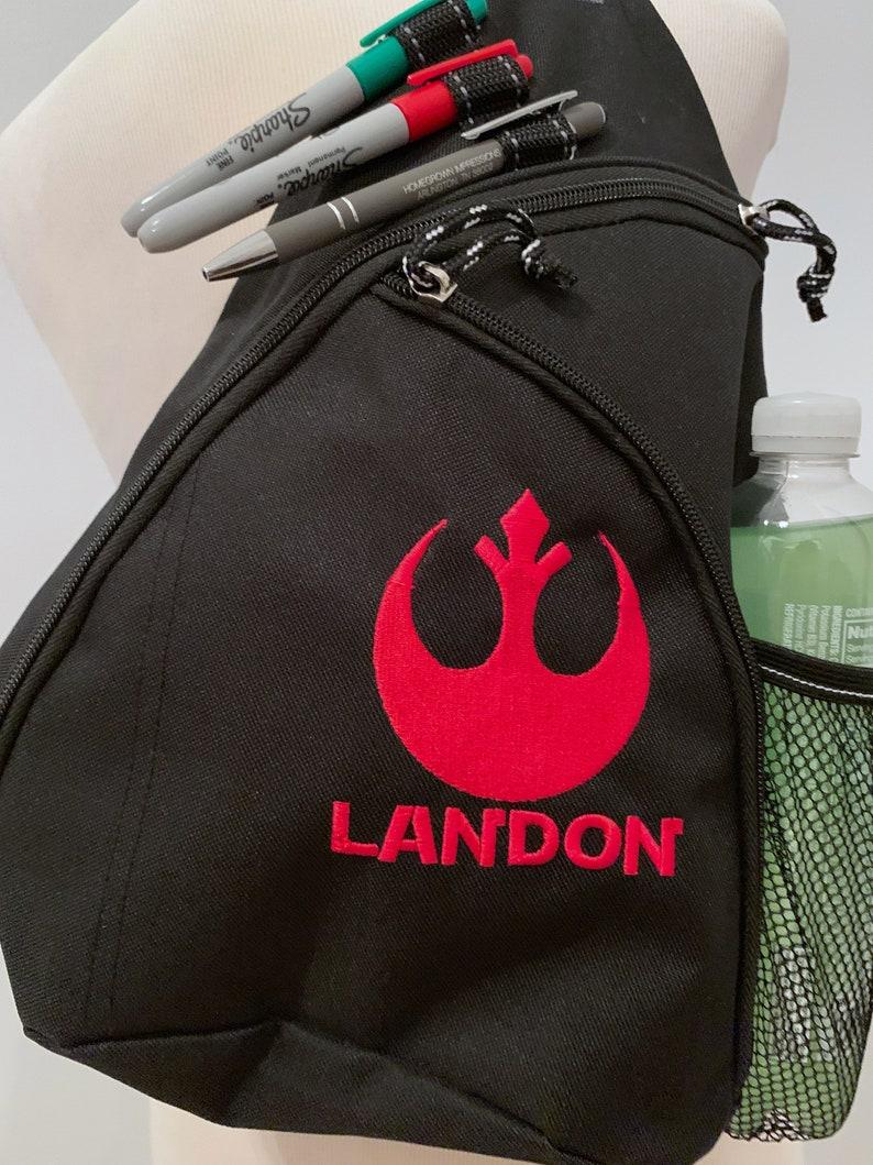Disney Backpack Star Wars Backpack Embroidered Star Wars Sling Backpack Embroidered Backpack - NEW DESIGNS!