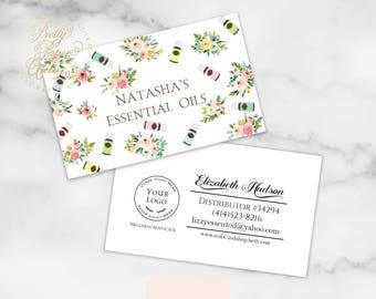 Essential Oils Business Card