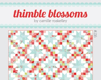 Patchwork Sky Quilt PATTERN by Thimble Blossoms Camille Roskelley