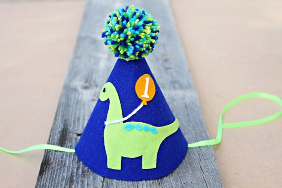 Boys Dinosaur Party Hat