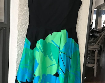 f22b2ef62 Chetta B Vintage Dress Size 4 Cap Sleeves Pintucks USA Cotton