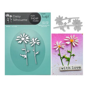 Dandelions Metal Die Cut Stencil Marianne Craft Cutting Dies LR0513 Flowers Wish