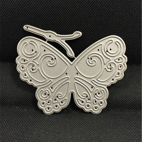 Butterfly Metal Die Cut Little Wild Rose Studios Cutting Dies Animals,Insects