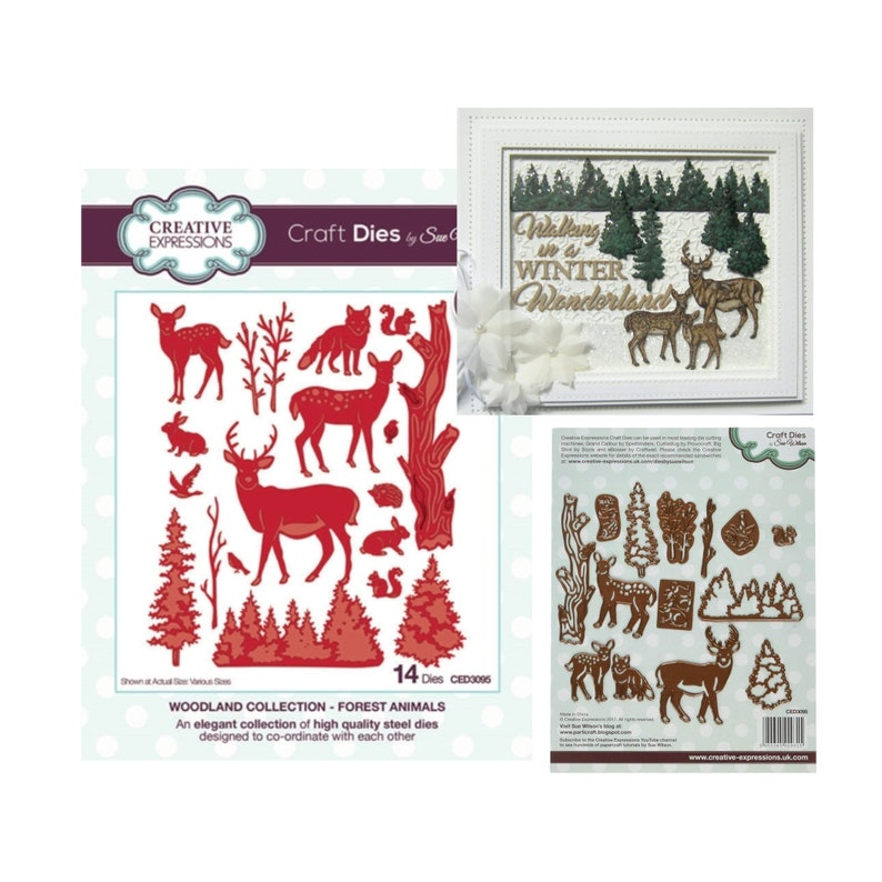 MORE TREES  Stamp Set CREATIVE EXPRESSIONS