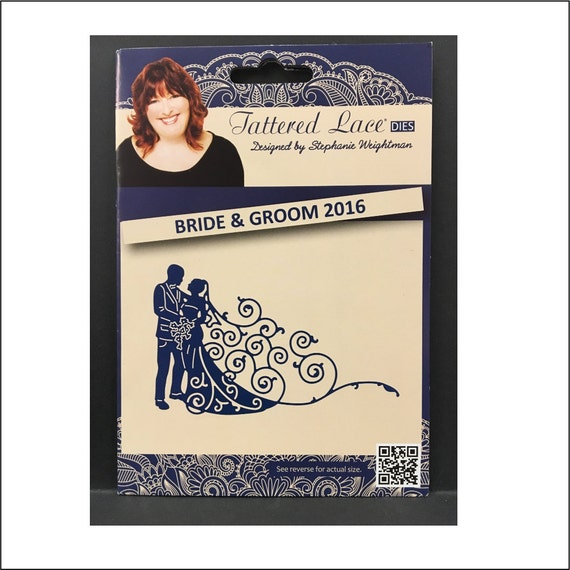 NEW Tattered Lace /'BRIDE AND GROOM 2016/' D1385 FREE UK P/&P