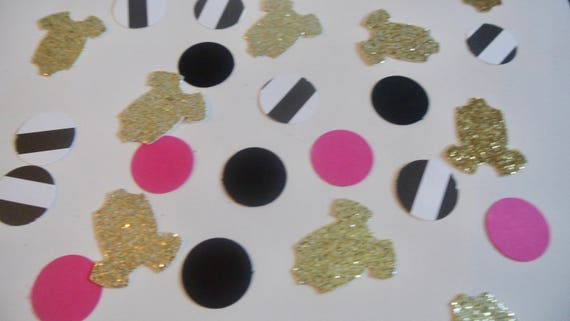 Kate Spade Confetti. Kate Spade Baby Shower. Pink And Gold. Baby Shower  Decor By Paper Rabbit. Kate Spade Bridal Shower From PaperRabbit87 On Etsy  Studio