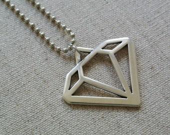 Chain Diamond Stainless Steel