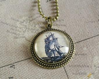Chain sailing ship Nostalgic