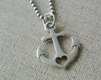 Chain Heart Anchor