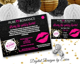 pure romance party etsy