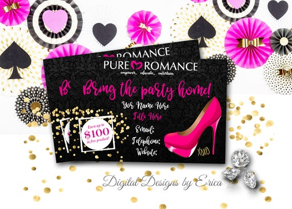 image 0 - Pure Romance Business Cards